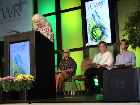 Members of the local region spoke on the movement to renewable energy