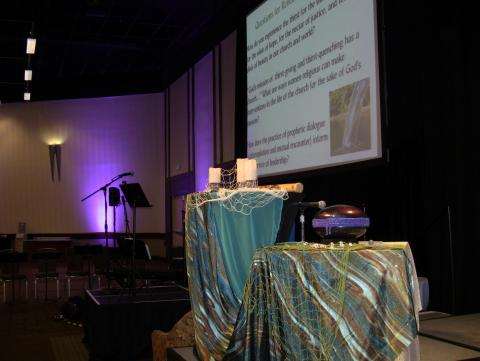 Prayer and ritual center for the LCWR assembly