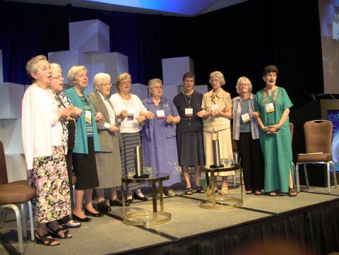Former and current LCWR presidents and executive directors