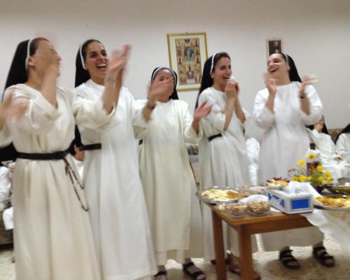 Iraqi Dominican sisters in a happier time (2013)