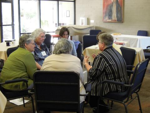 LCWR board engages in contemplative process