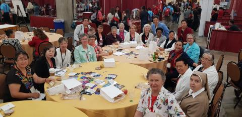 LCWR delegation meets with Hispanic sisters