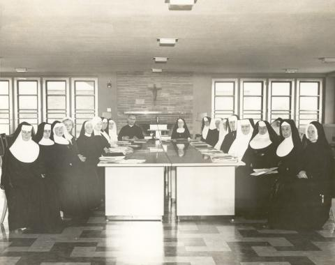 CMSW National Executive Committee Meeting, 1958 in Chicago