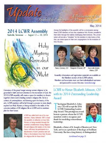 May 2014 LCWR Newsletter