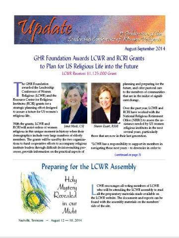 August - September 2014 Newsletter